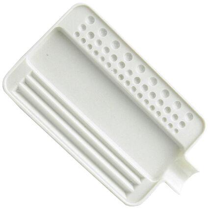 imagem do produto Bandeja para Pedras Branca - Pequena