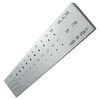 imagem do produto  Fieira Diloy Retangular 3.00 a 1.00mm - 20 Furos