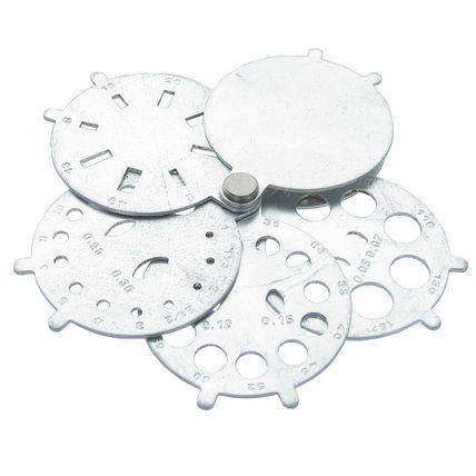 imagem do produto Calibre para Pedras Redondo de Aluminio