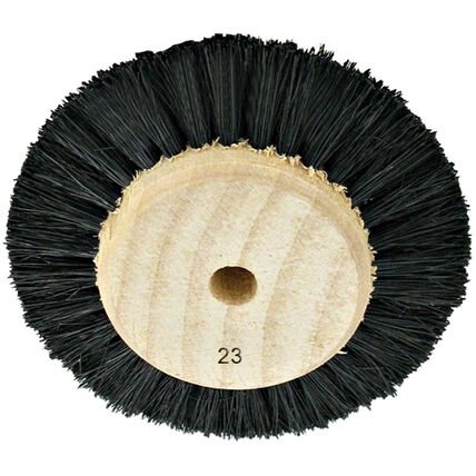 imagem do produto Escova Circular Pelo Preto Duro N. 23