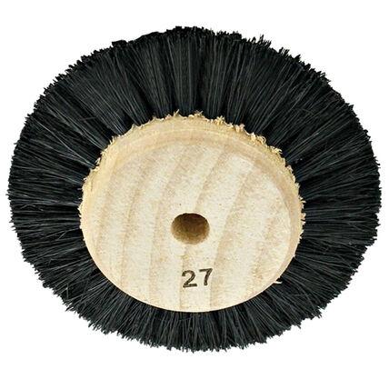 imagem do produto Escova Circular Pelo Preto Duro N. 27