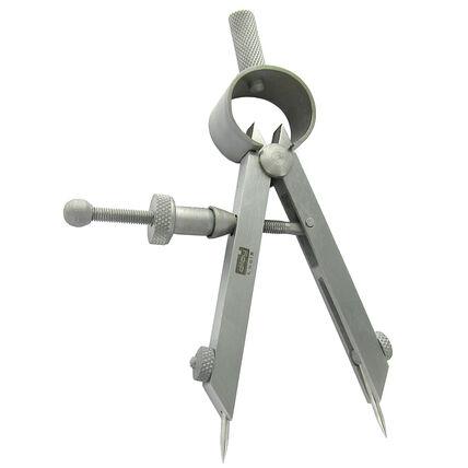 imagem do produto Compasso Diloy para Ourives 75mm com Pontas Trocaveis